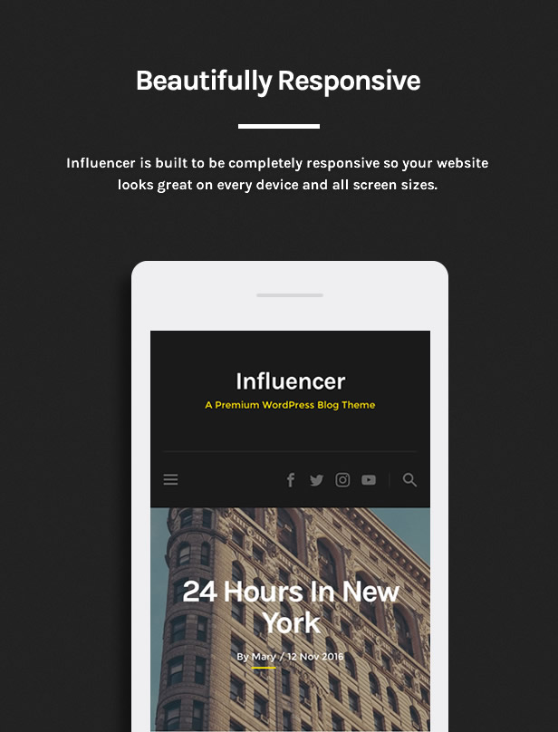 Influencer - Magazine & Blog WordPress Theme - 2