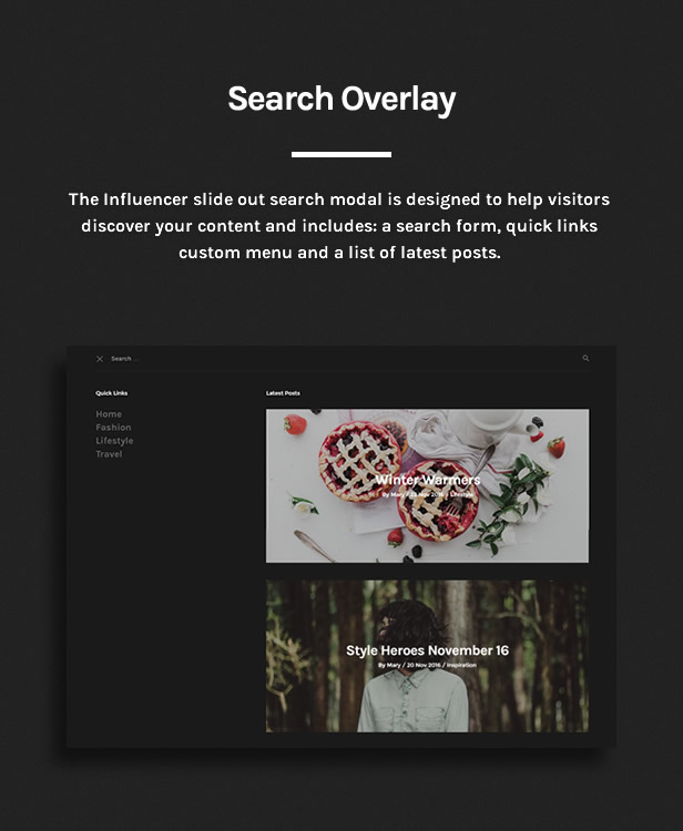 Influencer - Magazine & Blog WordPress Theme - 6